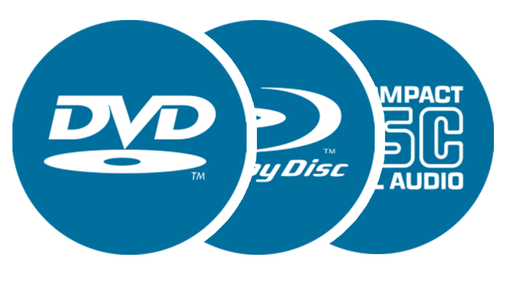 Výroba DVD