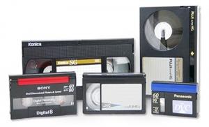 Převod videokazet VHS, Hi8, MiniDV, Beta