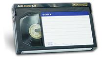 Převod BetaCam na DVD