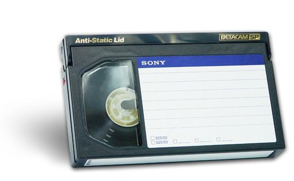 Převod BetaCam na USB flash disk