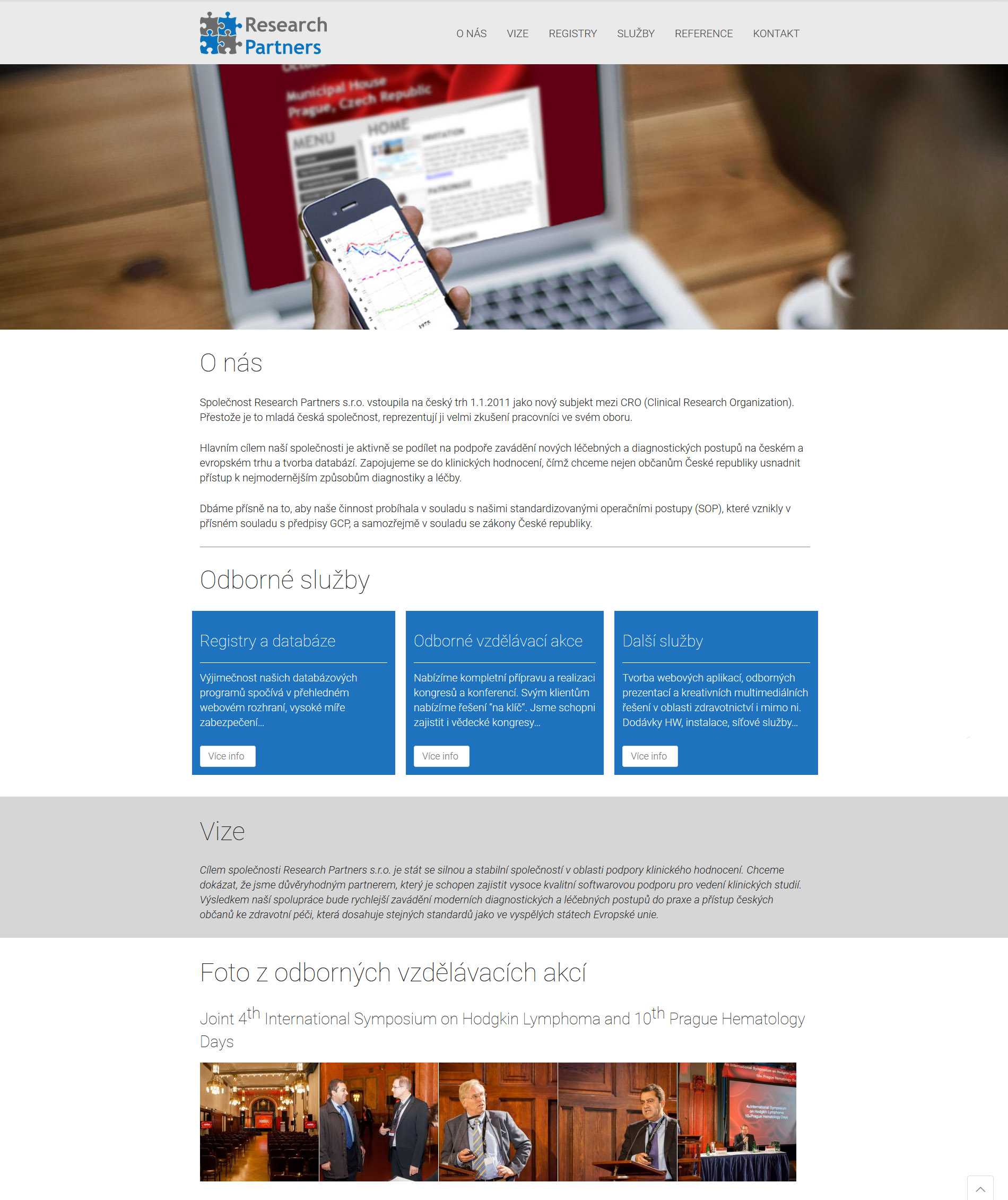Tvorba webu - reference